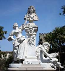 Jean Antoine Injalbert: monument Molière à Pézenas