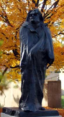 Auguste Rodin: monument pour Balzac. Musée Auguste Rodin