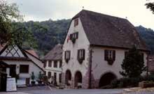 Albé: maison typique du Val de Villé. (La maison alsacienne)