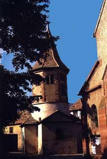 Avolsheim: le baptistère Saint Ulrich