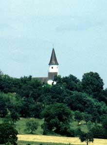 Alsace Bossue: l'église de Berg est en quelque sorte le symbole de cette région… (La maison alsacienne)