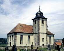 Alsace Bossue: la «Stengelkirche» de Berg. (La maison alsacienne)
