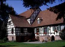 Bischwiller: une ancienne ferme. (La maison alsacienne)