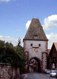 Boersch: la porte Nord