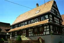 Cleebourg: maison vigneronne du XIXè. (La maison alsacienne)