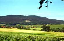 Cleebourg: vue générale. (La maison alsacienne)