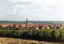 Dambach la Ville: vue générale
