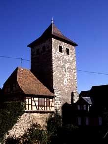 Dambach la Ville: la porte de Diffenthal
