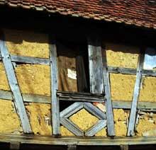 Dauendorf en pays de Hanau: torchis… (La maison alsacienne)