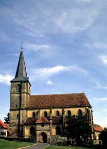 Domfessel: l'église paroissiale