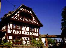 Duntzenheim en Kochersberg: magnifique demeure du XVIIIè. (La maison alsacienne)