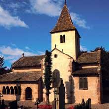 Epfig: la chapelle Sainte Marguerite du cimetière