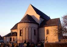 Eschau: le chevet