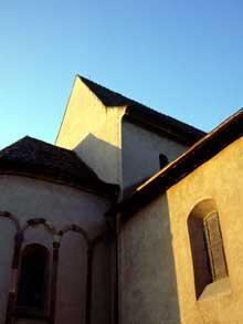 Eschau: chevet et croisée