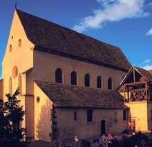 Eschau: l'abbatiale saint Trophime