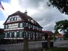 Gambsheim: la mairie. 1823. (La maison alsacienne)
