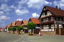 Geispolsheim: rune Principale. (La maison alsacienne)