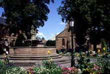 Haguenau: place saint Nicolas