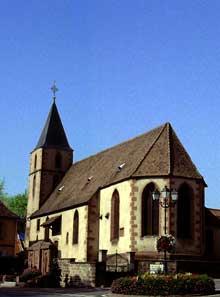 Hochfelden: la chapelle saint Wendelin