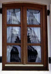 Hunspach, reflets... (La maison alsacienne)