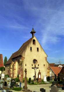 Marmoutier: la chapelle Saint Denis du cimetière