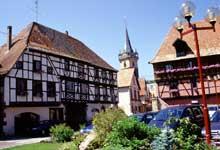 Obernai. Place de l'Hôtel de Ville