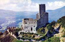 Ortenbourg: le château vu du nord-est