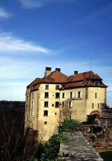 La Petite Pierre: le château. (La maison alsacienne)