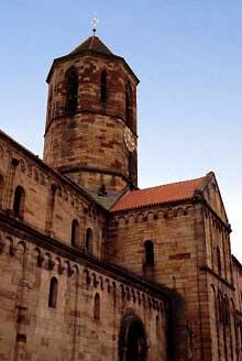 Rosheim: l'église saints Pierre-et-Paul, chef d'œuvre de l'art roman alsacien