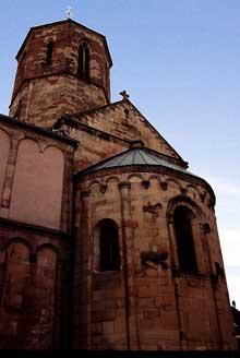 Rosheim: l'église saints Pierre-et-Paul: le chevet