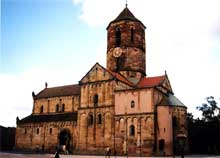 Rosheim: joyau roman, l'église saints Pierre et Paul