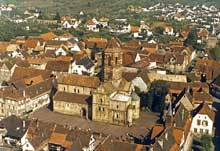 Rosheim: saints Pierre et Paul : vue générale