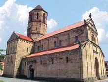 Rosheim: saints Pierre et Paul : l'édifice vue du nord