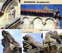 Rosheim: saints Pierre et Paul : sculptures