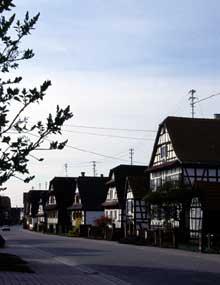Seebach, perle de l'Outre Forêt. (La maison alsacienne)