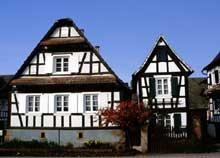 Seebach, une ferme d'un «Herren Bauer», d'une grand fermier de l'époque. (La maison alsacienne)