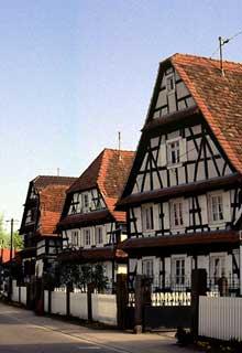Seebach: ferme traditionnelle. (La maison alsacienne)