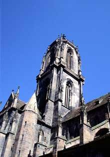 Sélestat: Saint Georges: la tour