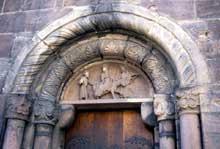 Sélestat: Sainte Foy: le portail