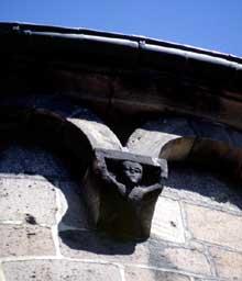 Sainte Foy de Sélestat: détail du chevet
