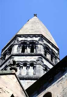 Sainte Foy de Sélestat: la tour de croisée