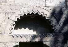 Sainte Foy de Sélestat: Tympan de portail