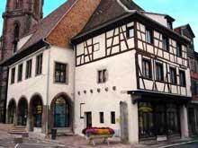 Sélestat: la maison du Pain, ancien poêle des Boulangers. (La maison alsacienne)