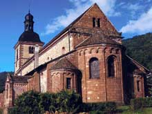 Saint Jean les Saverne: l'église saint Jean Baptiste
