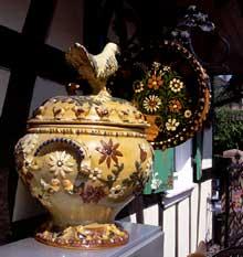La poterie, spécialité de Soufflenheim… (La maison alsacienne)