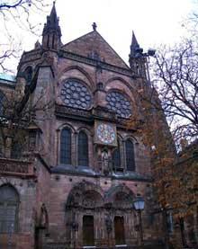Strasbourg, cathédrale: le transept sud