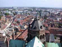 Strasbourg, cathédrale: la tour de croisée, du XIXè