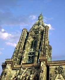 Strasbourg, cath�drale�: la fl�che