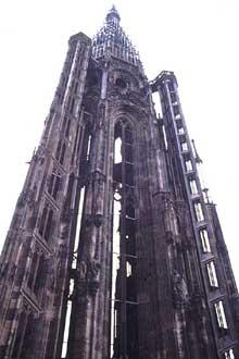 Strasbourg, cathédrale Notre Dame: la flèche