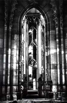 Strasbourg, cathédrale Notre Dame: octogone: intérieur